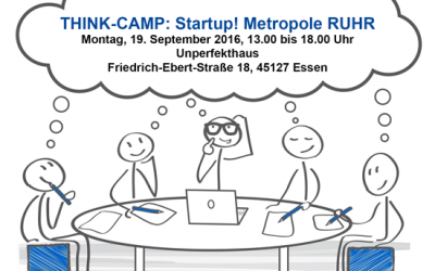 THINK-CAMP: Startup! Metropole RUHR